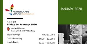Netherlands-Ghana business fair returns this January