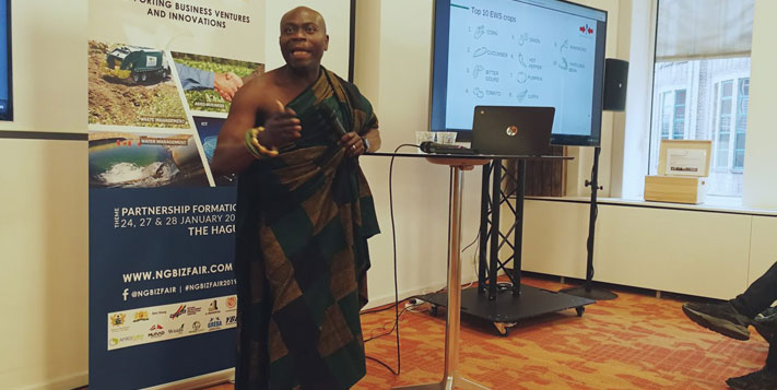 Ghana entrepreneurs spark international partnerships in The Hague